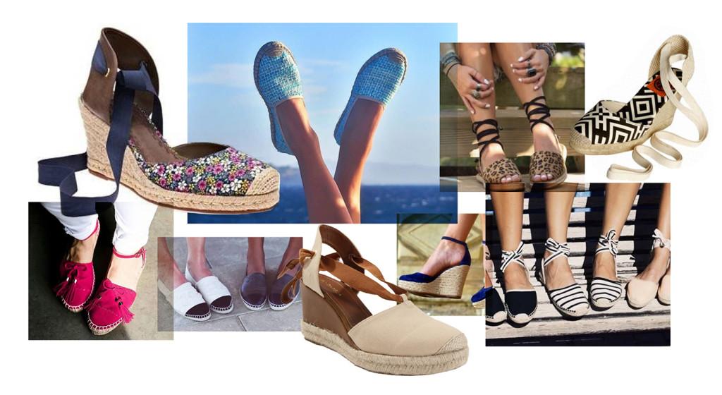 Espadrille: o sapato que não sairá do seu pé