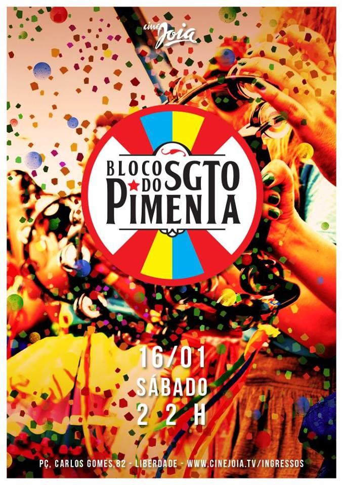 Festa Sargento Pimenta Cine Joia 2016