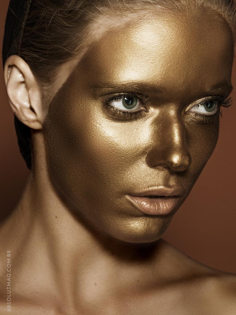 Maquiagem bronze de verão