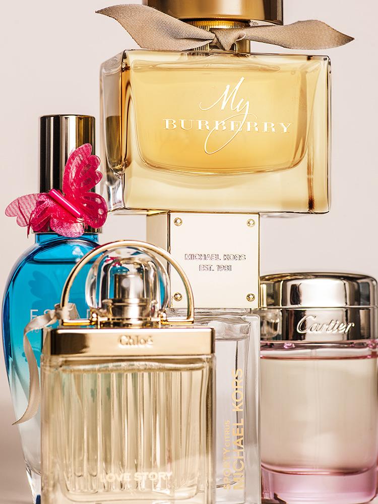 Top 5 perfumes femininos